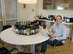 Saša Špiranec and his daily routine. Probably the most renowned connoisseur of Croatian #wines