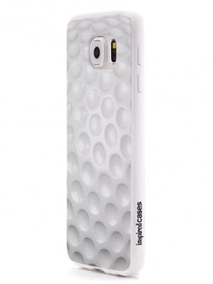Give your Galaxy S6 cell phone a unique style all its own. This Golf Ball Texture Case was professionally created and printed in the United States for all the golf players and fanatics out there! Textured printing raises parts of the images, creating a unique feel like no other case.  The case features high-quality, original design and images that not only set you apart, but keep your device protected - making it the perfect Galaxy S6 accessory!