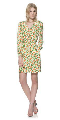 Heart & Petal Scallop Dress