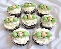 Original Pea Pod Cupcakes