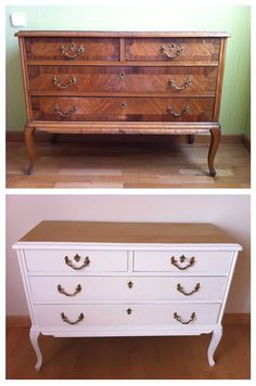 Many people who are in the process of decorating their homes are on the lookout for vintage furniture and related items in the design of their rooms and spaces. Pink Furniture, Furniture Update, Refurbished Furniture, Repurposed Furniture, Furniture Projects, Furniture Making, Furniture Makeover, Vintage Furniture, Painted Furniture