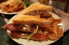 Una prova pratica: club sandwich casalingo e polpette piccanti al sugo di verdure