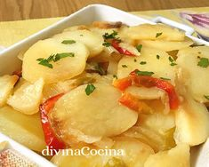 Cómo hacer patatas panaderas - fácil