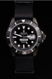 Rolex Submariner Comex  Ion-plated stainless steel push-in case back with engravings