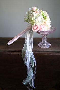 Flower Girl Wand Bouquet - Splendid Stems Floral Designs
