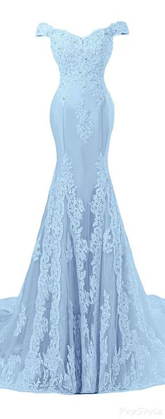 Sunvary Off Shoulder Formal Lace Evening Gown