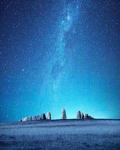 Amazing work by @dansade Ales stenar Sweden Photo composite of Milky Way and ales stenar Ales Stenar Kåseberga by sweden