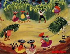Mary Blair in Mexico