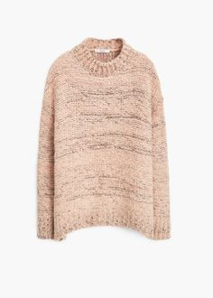 Jersey lana jaspeado