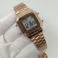 528b6286841 Relógio Vintage Casio Digital Illuminator WR – Rose