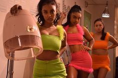 Oof i loove these sets - - - - - - -  Early 2000s Fashion, 90s Fashion, Fashion Outfits, Fashion Trends, Trending Fashion, Looks Style, Looks Cool, My Style, Black Girl Aesthetic