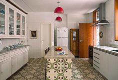 ladrilho hidraulico ceusa na cozinha - Pesquisa Google