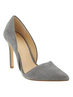 Adelia D'Orsay Pump | Banana Republic