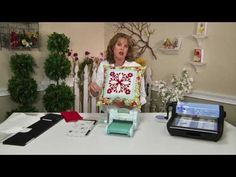 Sizzix Quilt Die-Cutting - Fabric Quick Hawaiian - YouTube