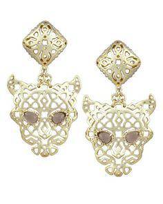 Tria Statement Earrings in Smoky - Kendra Scott Jewelry.