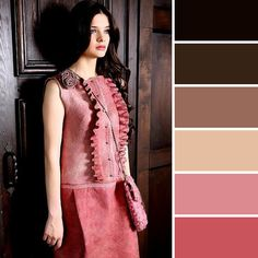 Colour inspiration and ideas for home decorating, art, craft and design. Color Combinations For Clothes, Color Combos, Color Schemes, Color Harmony, Color Balance, Chocolate Color, Chocolate Cream, Colour Pallette, Find Color