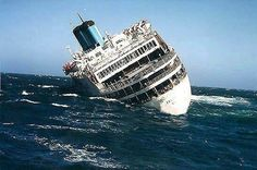 Britanis sinking on October 2000 after taking on Water while being towed. No one was aboard. Abandoned Ships, Merchant Navy, Ghost Ship, Tug Boats, Shipwreck, Tall Ships, Water Crafts, Battleship, Titanic