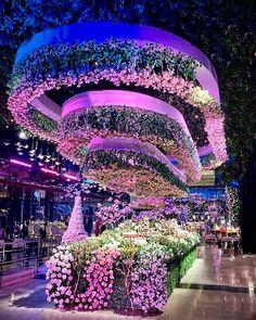 "Fairytale redefined 💕 ______________ ▪Wedding dress : @ziadnakad. ▪Wedding cake : @carmelitaspty…"" Something Borrowed, Something Blue, Gold Bridesmaid Dresses, Wedding Dresses, Lebanese Wedding, Over The Top, Wedding Catering, Light Orange, All White"