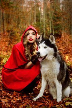 Red riding hood VI by ~DarkVenusPersephonae on deviantART