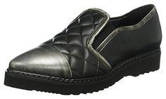 xyxyx Damen Slipper, Schwarz (Black/Silver) , 37 EU for sale Partner, Black Silver, Clogs, Slippers, Best Deals, Link, Fashion, Self, Moccasins