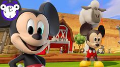Old MacDonald Had a Farm   3D Mickey Mouse Nursery Rhymes and Games for ...