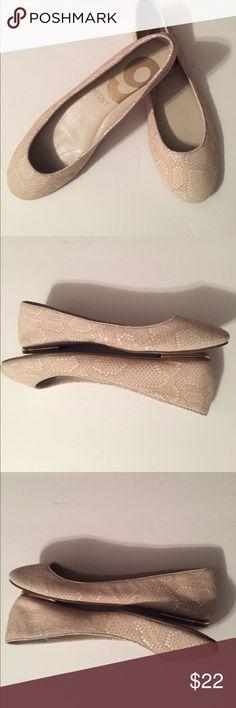 Nine West Ballet Flats NWOT Leather uppers. Never worn. 7.5 M Nine West Shoes