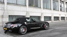 Gallery: meet the supercars of London - BBC Top Gear  Mercedes SLS AMG Roadster