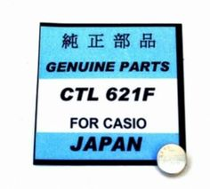 #PanasonicSolar CTL621F capacitor Battery  is a 2.5 volt button cell used in many different model Casio watches.
