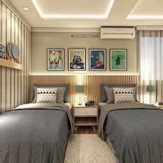 Bedroom Design Ideas – Create Your Own Private Sanctuary Bedroom Bed Design, Girl Bedroom Designs, Small Room Bedroom, Home Bedroom, Bedroom Decor, Bedroom Boys, Bedroom Ideas, Shared Bedrooms, Guest Bedrooms