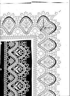 アルバム アーカイブ Bobbin Lace Patterns, Crochet Patterns, Romanian Lace, Bobbin Lacemaking, Lace Heart, Crochet Books, Needle Lace, Lace Making, Crochet Stitches