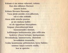 Sirkka Turkan runo Kukaan ei ota minua vakavasti... Voiman ääni-kirjasta Personalized Items