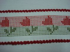 Bordado Tipo Chicken Scratch, 123 Cross Stitch, Swedish Embroidery, Swedish Weaving, Diy And Crafts, Patches, Lily, Sewing, Crochet