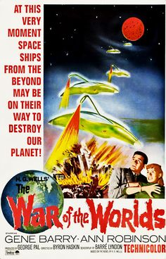 War Of The Worlds (1953) Gene Barry - Excellent Sci-fi Excellent film