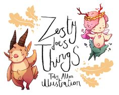 Toby Allen Illustration | Zesty Does Things