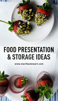 Food Presentation & Storage Ideas | Martha Stewart Living - Make your food look as good as it tastes with presentation and storage tips from Martha.