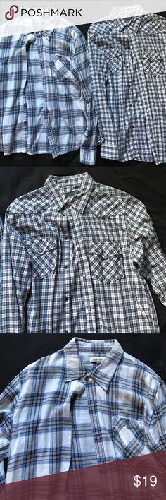 Men's Flannels Men's Flannels size M. Great preowned condition. Offers accepted! Shirts