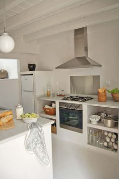Cocinas de cemento on pinterest kitchens puertas and - Decoracion cocinas rusticas ...