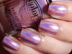 Color-Club-Halo-Graphic-Halo-Hues-Pink-Holographic-Holo-Nail-Polish-978