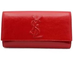 red patent leather YSL - perfect for a parisian lunch