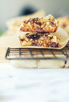 Thick & Chewy Oatmeal Coconut Dark Chocolate Cookies {with Cranberries & Millet}