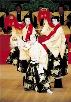 Traditional Kabuki Masks | Kabuki Costumes