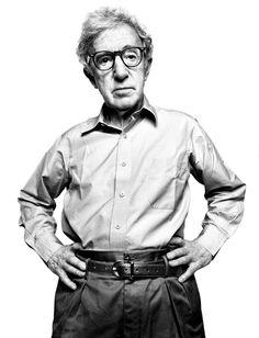 Woody Allen - by Platon