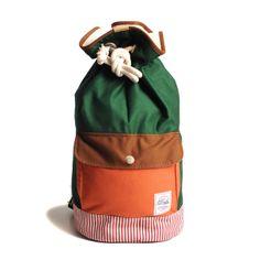 eu.Fab.com | Duffle Bag Orange Green