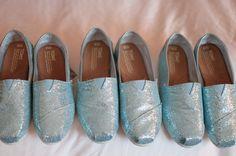 Something glittery blue! Photo by Apryl Ann