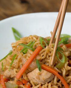 One-Pot Chicken Chow Mein