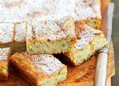 Šťavnatá cuketová buchta Cornbread, Banana Bread, Sandwiches, Zucchini, Healthy Recipes, Healthy Food, Cooking, Ethnic Recipes, Desserts