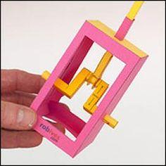 Designing paper Mechanism ideas