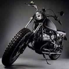 Stellar-looking BMW from @anvilmotociclette. #bmw #motorcycle #scrambler #motorsports #megadeluxe #tw