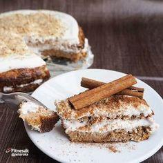 Mrkvovo-jablečný koláč
