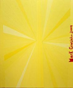 Mark Grotjahn, Yellow Butterfly Orange Mark Grotjahn 2004 (2004): Blum & Poe